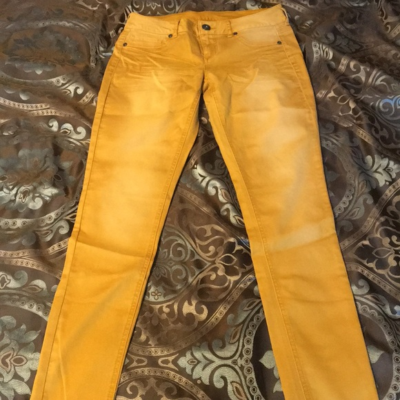 07e13700b93 Maurices Pants - NWOT Maurice s mustard yellow jeggings